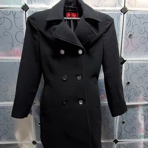 Anne Klein double breasted  wool Pea Coat